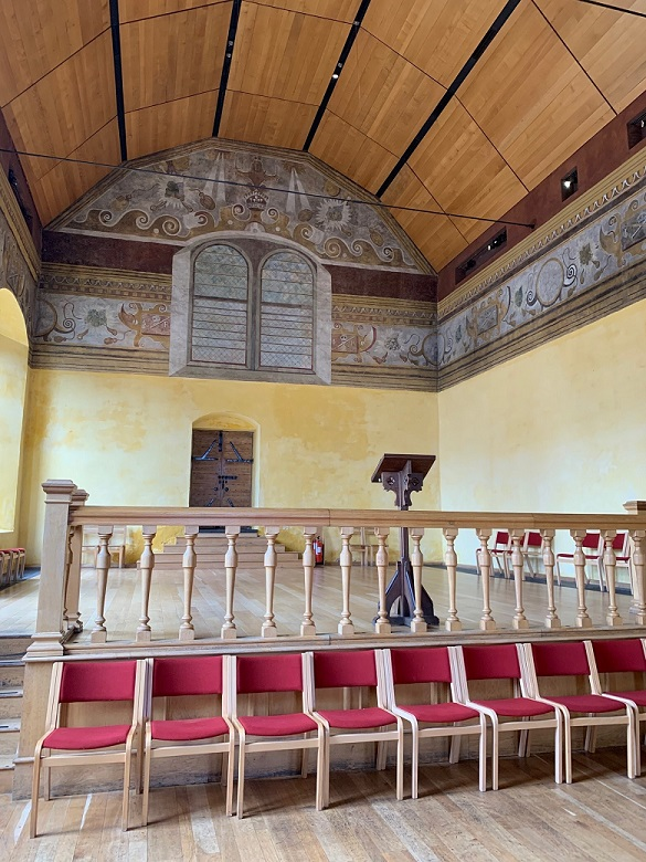 interior view of the Chapel